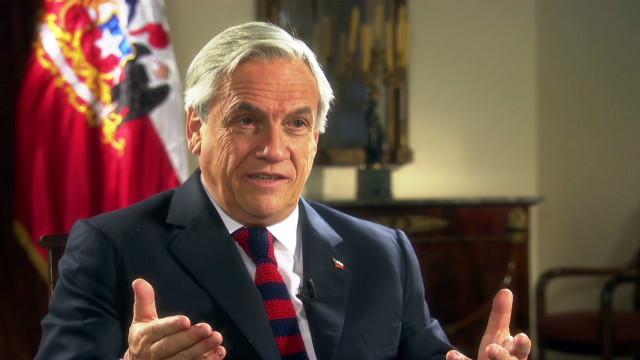 El presidente de Chile anuncia un aumento en el presupuesto de educación