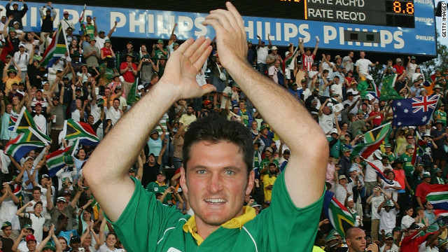 It is the one-day cricket international that may never be equalled. Set a world record score of 435 to win in their allotted 50 overs, Graeme Smith's South Africa beat Australia in Johannesburg after racking up 438 runs, with just one wicket and one ball to spare.