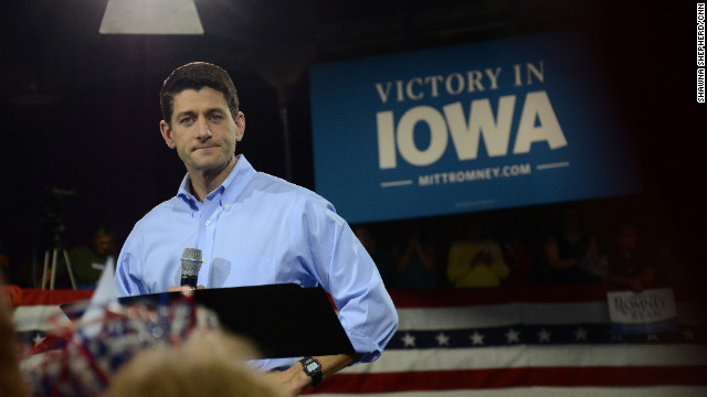 Paul Ryan Iowa bus tour about 'choice'