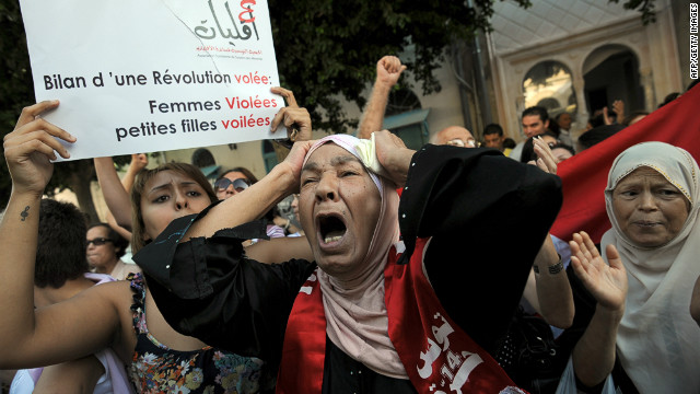 After a week of protests, Tunisia's president has formally apologized to a woman charged under after being raped by two police officers.