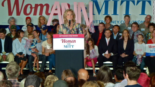 Ann Romney touts her husband's softer side
