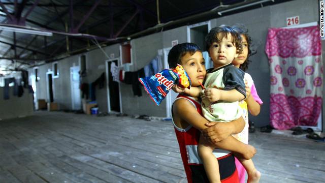 Ayuda a los refugiados sirios