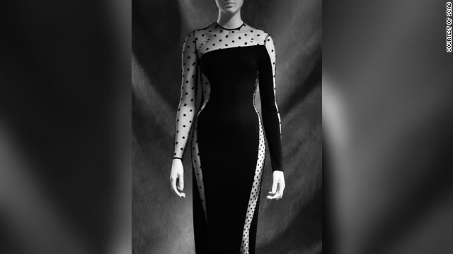 Talley believes the image of Stella McCartney wearing this dress is so elegant as to approach definitive black dress status.