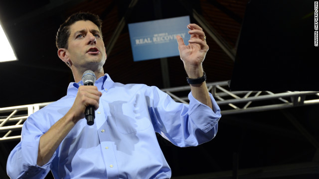 What surprised Paul Ryan in VP run?