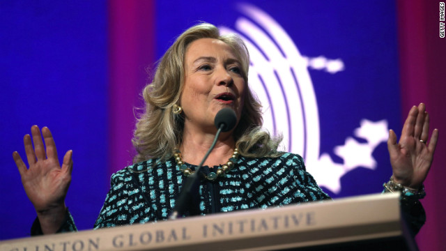 Hillary Clinton: Repeats 'no' for 2016, can't stand 'whining' about life choices