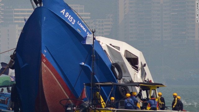 Thirty nine people were killed in Hong Kong's deadliest maritime accident in decades, on October 1.