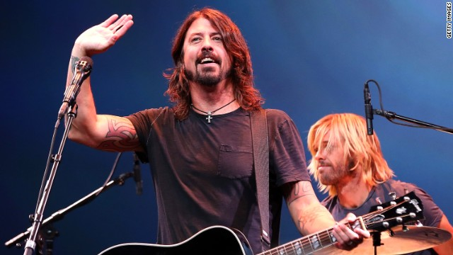 Dave Grohl says Foo Fighters taking a hiatus