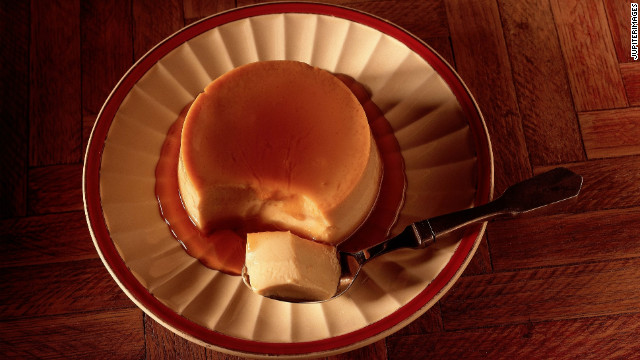 National caramel custard day
