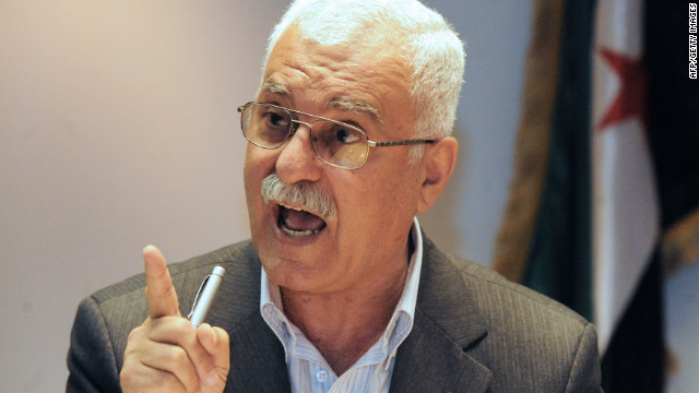 Syrian National Council spokesman George Sabra told CNN no Syrian would