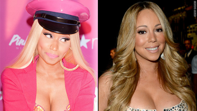 Nicki Minaj and Mariah Carey both announced Thursday that they're leaving