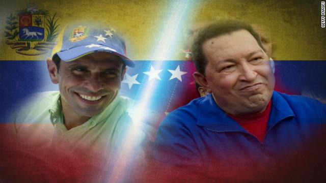 Hugo Chávez habla con Capriles y le pide unirse pese a sus diferencias