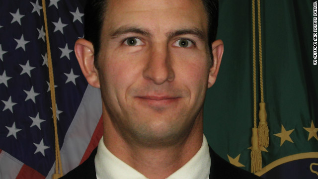 Border Patrol agent Nicholas J. Ivie was killed on October 2 near Naco, Arizona.