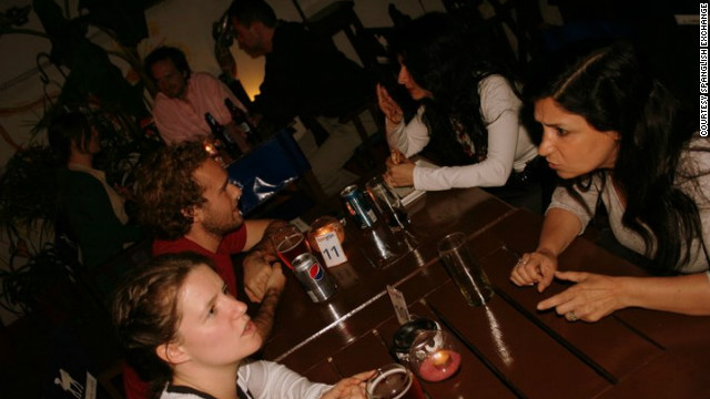 The Spanglish Exchange, which partners people from two languages for rapid-fire sessions, takes place in restaurants and bars in Buenos Aires and Madrid.