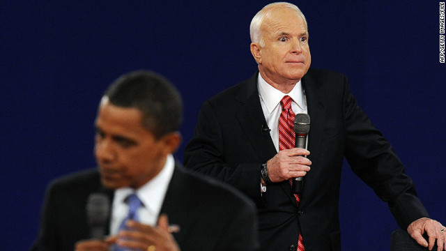 John McCain sparked controversy when he referred to Obama as &quot;that one&quot; during the second 2008 presidential debate. Obama later joked that his first name was Swahili for &quot;that one,&quot; according to the New York Times.
