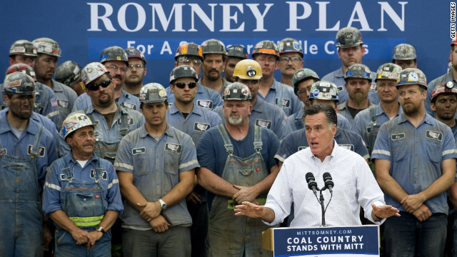 Obama calls miners in Romney ad 'props'