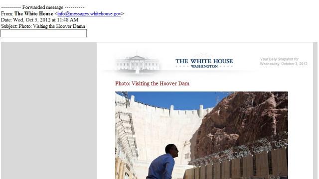 ...that's a big dam.