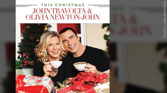 John Travolta, Olivia Newton-John reunite for Christmas album