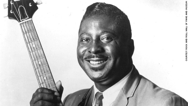 Albert King's husky vocals and signature Gibson Flying V guitar influenced several artists including Eric Clapton and avid fan Stevie Ray Vaughan. Known for such songs as &quot;Don't Throw Your Love on Me So Strong&quot; and &quot;That's What the Blues Is All About,&quot; the Mississippi Delta native was selected for induction after his first nomination. He died in 1992.