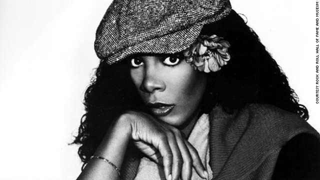  &quot;Queen of Disco&quot; Donna Summer has five times before appeared on the ballot for the Rock and Roll Hall of Fame. She was the first female artist to have four No. 1 singles in a 13-month period with &quot;MacArthur Park,&quot; &quot;Hot Stuff,&quot; &quot;Bad Girls&quot; and &quot;No More Tears.&quot; Summer died in 2012 after a battle with lung disease.