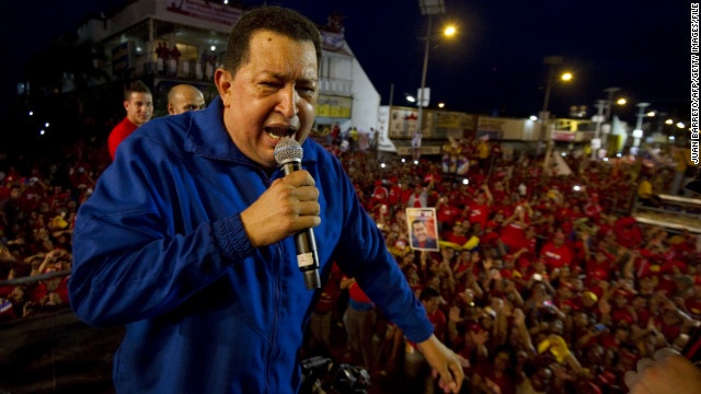 Hugo Chavez, who was Venezuela's youngest president when he took power in 1998, is now 58.