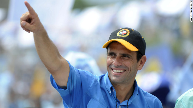 &quot;Venezuelans are looking for a new way,&quot; Capriles told his supporters. &quot;It's been 14 years of the same government. This government has already completed its cycle and has nothing more to offer. They're only recycling promises.&quot;