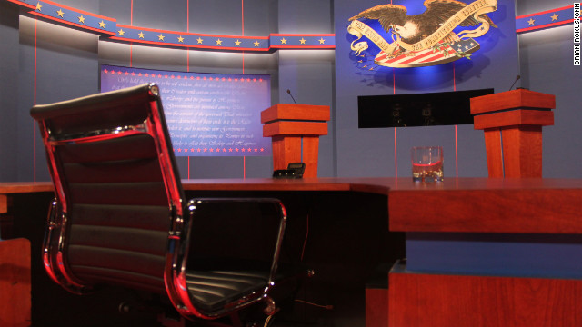 Live blog: First presidential debate