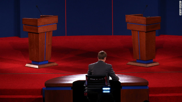 John King: Debate all about trust for Romney
