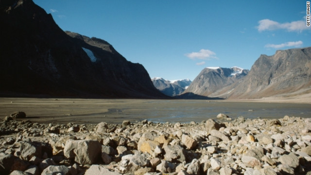 Auyuittuq National Park, home to Mount Asgard, was the site of Bond's BASE-jumping in &quot;Never Say Never Again.&quot;