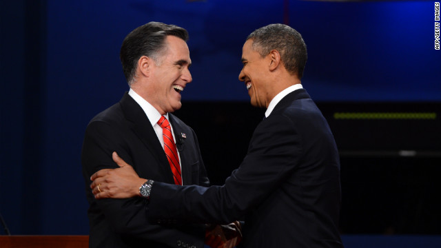 an analysis of the presidential debate between president barack obama and mitt romney at the univers Republican presidential nominee mitt romney and president barack obama answer a question during the third presidential debate at lynn university oct 22 in boca raton, fla (photo by associated press pool | win mcnamee.