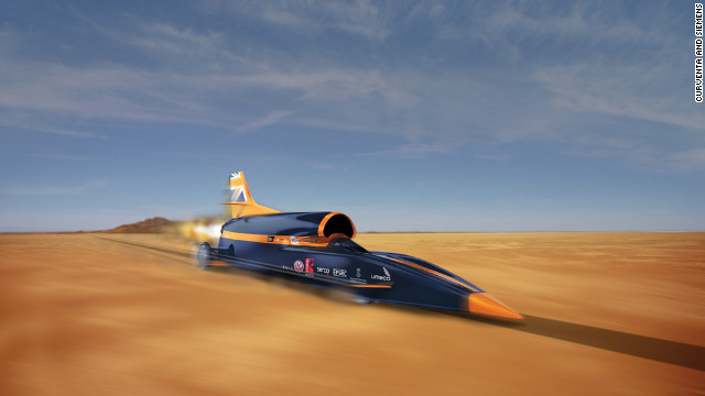 Rocket for supersonic &#039;hybrid car&#039; passes first test