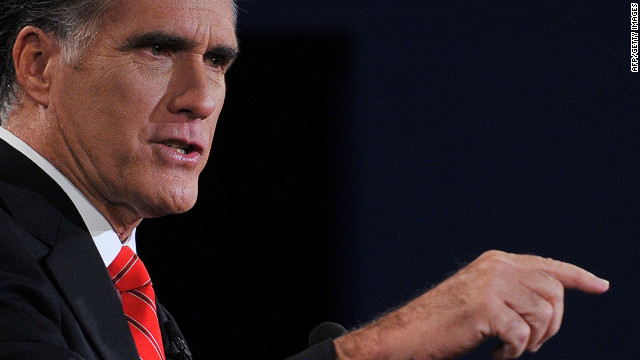 Romney was more aggressive Wednesday in criticizing Obama's vision.
