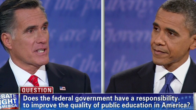 Todd Rogers and Michael Norton say that putting the question on screen helps hold candidates accountable for an answer.