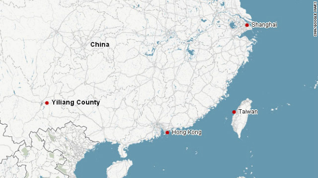 Yiliang County was recently hit by earthquakes.