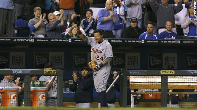 Miguel Cabrera se corona como el Jugador Más Valioso de la Liga Americana