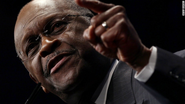 Herman Cain delivers debate analysis