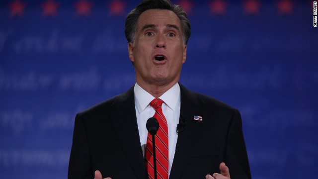 CNN Poll: Most watchers say Romney debate winner
