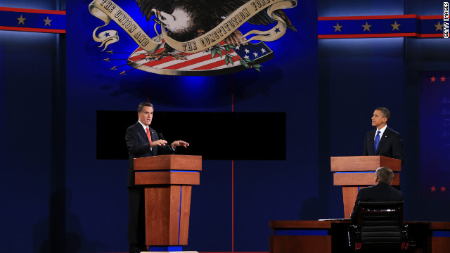 Candidates hit campaign trail after Romney's strong debate