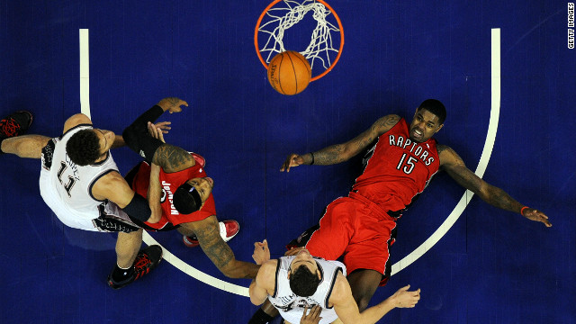 The Toronto Raptors and New Jersey Nets played two regular season NBA games in London in March 2011