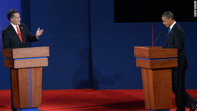 Romney to get first question at debate