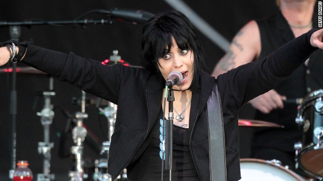 Joan Jett booted from parade float for vegetarian views