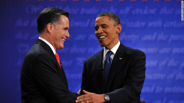 Health care was mentioned about six minutes into Wednesday night's presidential debate.