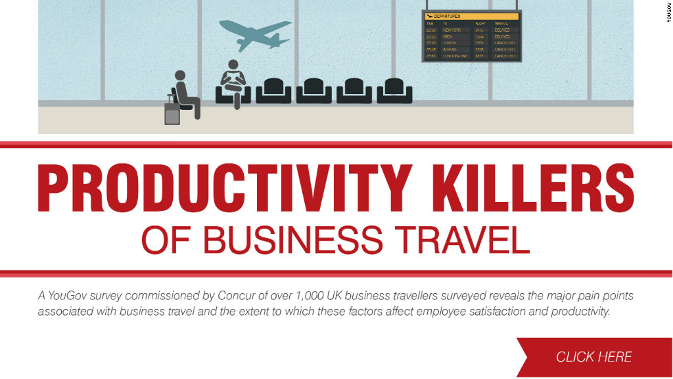 Traveling around the globe may help secure those big deals but on the flip side jet setting can seriously damage productivity.<br/><br/>Created by Laura Miller and Ines Torre
