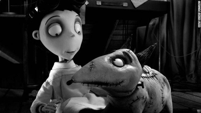 &quot;Frankenweenie&quot; and &quot;The Cabin in the Woods&quot; are tied for the 10th spot on this list of 2012's best films. Horror movies rarely get respect in year-end lists, but of the three films scripted or co-scripted by Joss Whedon this year (&quot;The Avengers&quot; and &quot;Much Ado About Nothing&quot; were the others), &quot;The Cabin in the Woods&quot; was the most fiendishly ingenious -- a horror movie that was truly out of the box. As for &quot;Frankenweenie,&quot; pictured, this 3-D black-and-white tribute to classic Universal monster movies showed yet again that Tim Burton is most himself in animated film. 