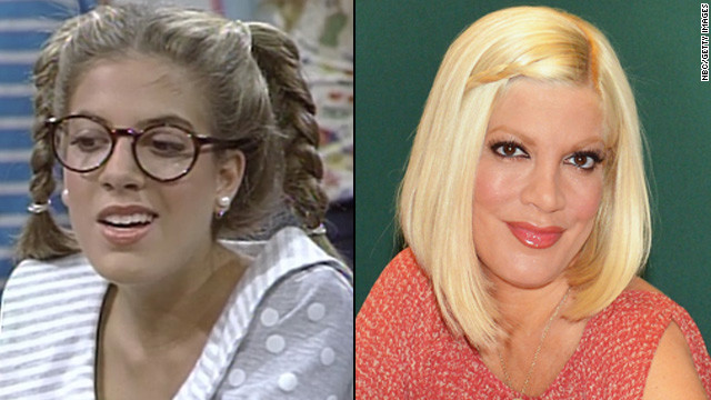 "Tori Spelling briefly appeared on the series as a nerdy student named Violet who had a crush on Screech. The actress went on to appear in a number of films and series, including ""Beverly Hills, 90210."" The <a href='http://marquee.blogs.cnn.com/2012/08/31/tori-spelling-gives-birth-to-baby-boy/?iref=allsearch' target='_blank'>mom of four</a> and ""Craft Wars"" host has starred in and produced several Oxygen reality series with husband Dean McDermott."