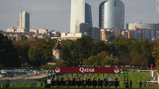 The Qatar Racing and Equestrian Club-sponsored event is the richest in Europe, with almost 8 million ($10.4 million) in prize money on offer over the weekend.