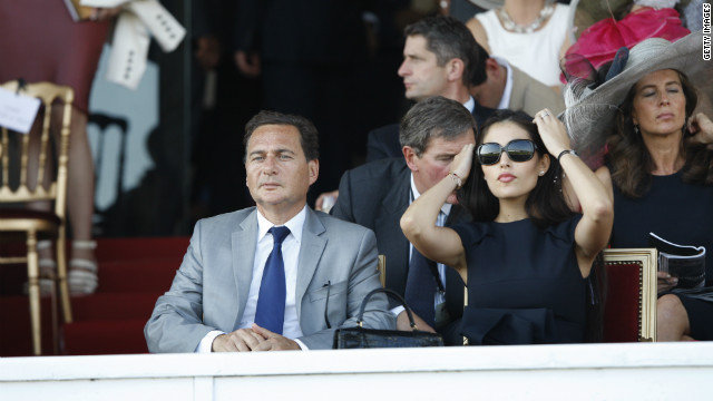 France's Industry Minister Eric Besson and wife Yasmine Tordjman also brought glamor to the stands in 2011. Politicians are a common sight at Longchamp, with many owning race horses.<br/><br/>