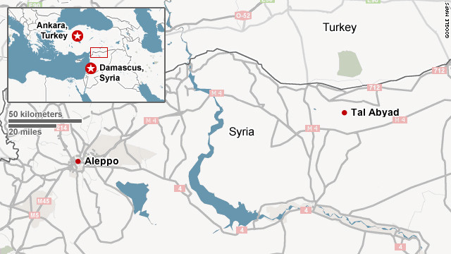 Where the border clashes took place
