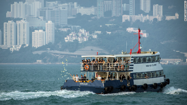Photos: Deadly Hong Kong ferry crash
