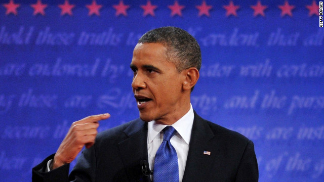 New Obama ad features footage from debate, Romney ad