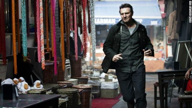 Liam Neeson stars as Bryan Mills in the film